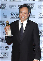 Director ANG LEE @ the 63rd Annual Golden Globe awards held @ the Beverly Hilton hotel.