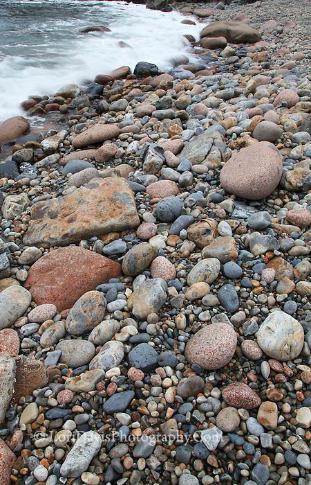Cobblestones at Little Hunters Beach #A104