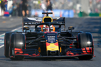 March 16, 2019: Max Verstappen (NLD) #33 from the Aston Martin Red Bull Racing team leaves the pit to start the qualification session at the 2019 Australian Formula One Grand Prix at Albert Park, Melbourne, Australia. Photo Sydney Low