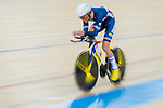 Louis Pijourlet of the France team competes in the Men's Individual Pursuit - Qualifying as part of the 2017 UCI Track Cycling World Championships on 14 April 2017, in Hong Kong Velodrome, Hong Kong, China. Photo by Marcio Rodrigo Machado / Power Sport Images
