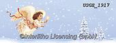 Dona Gelsinger, CHILDREN, KINDER, NIÑOS, paintings+++++,USGE1917,#k#, EVERYDAY ,angel,angels ,Christmas angels,#xk#