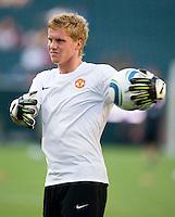 Ben Amos. Manchester United defeated Philadelphia Union, 1-0.