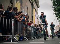 Pawel Poljanski (POL/BORA - hansgrohe) at the Team presentation in La Roche-sur-Yon<br /> <br /> Le Grand Départ 2018<br /> 105th Tour de France 2018<br /> ©kramon