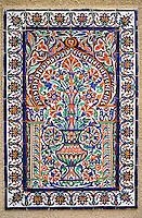 Sidi Bou Said, Tunisia.  Ceramic Wall Tile Design from Nabeul.