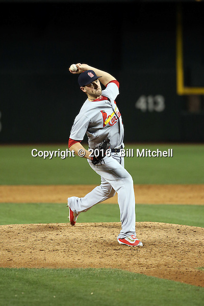 Kevin Siegrist - 2016 St. Louis Cardinals (Bill Mitchell)