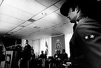 Photo d'archive de la GRC en 1974