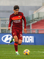 Roma's Gonzalo Villar in action during the Italian Serie A Football match between Roma and Genoa at Rome's Olympic stadium, March 7, 2021.<br /> UPDATE IMAGES PRESS/Riccardo De Luca