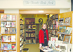 WATERTOWN, CT-- 12 January 2005   011205DA01.JPG --The Book Nook. Linda Merriman, Vice President of The Friends of Watertown Library. For Marketplace.Staff photo. Darlene Douty.