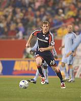 New England Revolution defender Pat Phelan (28). The New England Revolution tied the Colorado Rapids, 1-1, at Gillette Stadium on May 16, 2009.