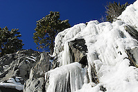 Ice Falls along Lake Koocanusa, Montana