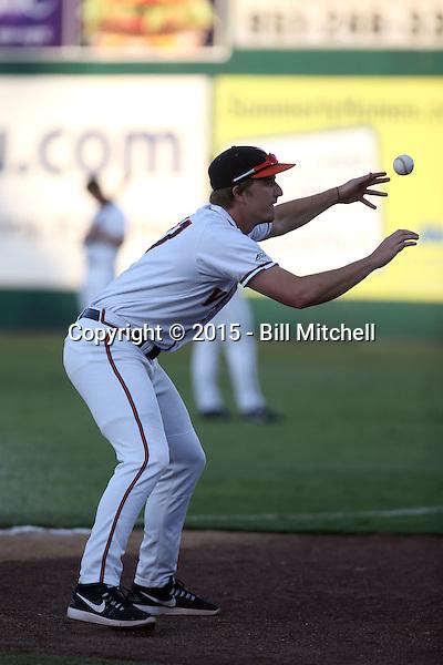 Josh Sborz - 2015 Virginia Cavaliers (Bill Mitchell)