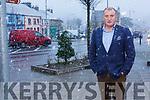Cllr Liam Galvin in Abbeyfeale on Tuesday.