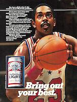 Bud Light, Needham, Harper & Steers Agency, 1982. Photo by John G. Zimmerman.