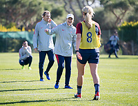 Faro, Portugal - January 8, 2019:  The USWNT trains during January Camp in Portugal.