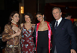 """PAOLA UGOLINI CON CLIO GOLDSMITH, NOEMIA D'AMICO E MARK SHAND<br /> VERNISSAGE """"ROMA 2006 10 ARTISTI DELLA GALLERIA FOTOGRAFIA ITALIANA"""" AUDITORIUM DELLA CONCILIAZIONE ROMA 2006"""