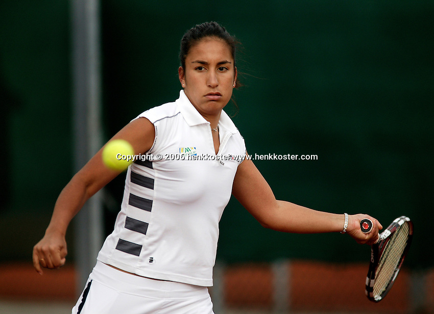 28-3-06, Rotterdam, tennis, Elisse Tamaela