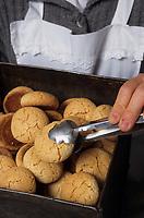 Europe/Espagne/Baléares/Minorque/Es Mercadal : Ca's sucrer-pasteleria villalonga - Gâteaux Amargos