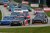 NASCAR XFINITY Series<br /> Johnsonville 180<br /> Road America, Elkhart Lake, WI USA<br /> Sunday 27 August 2017<br /> Christopher Bell, Toyota Toyota Camry and Elliott Sadler, OneMain Financial Chevrolet Camaro<br /> World Copyright: Russell LaBounty<br /> LAT Images