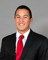 STANFORD, CA - January 7, 2014: Stanford Baseball athlete portrait.