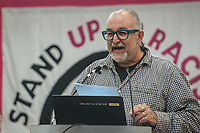 Stand Up To Racism Conference 2017. Held in central London. 22-10-17 David Rosenburg of the Jewish socialist group.
