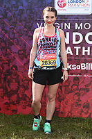 Candice Brown<br /> at the start of the London Marathon 2019, Greenwich, London<br /> <br /> ©Ash Knotek  D3496  28/04/2019