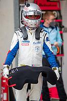 Romain Dumas, #709 Glickenhaus Racing Glickenhaus 007 LMH Hypercar , 24 Hours of Le Mans , Group Photo, Circuit des 24 Heures, Le Mans, Pays da Loire, France