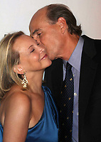 James Taylor, wife Caroline, 2009, Photo By John Barrett/PHOTOlink