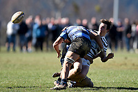 Jack Holland Spinks of Otago Boys, during the 1st XV South Island Final rugby match between Otago Boys High School 1st XV and Nelson College 1st XV at Littlebourne in Dunedin, New Zealand on Saturday, 31 August 2019. Photo: Joe Allison / lintottphoto.co.nz