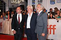 WALTON GOGGINS, RICHARD GERE AND DIRECTOR JON AVNET - RED CARPET OF THE FILM 'THREE CHRISTS' - 42ND TORONTO INTERNATIONAL FILM FESTIVAL 2017