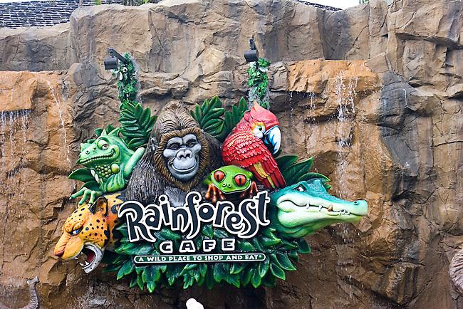 Rain Forest Cafe, Disney Marketplace, Orlando, Florida