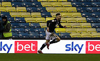 Tom Bradshaw of Millwall celebrates his goal during Millwall vs Nottingham Forest, Sky Bet EFL Championship Football at The Den on 19th December 2020