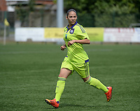 20150808 - ZULTE , BELGIUM : Anderlecht's Lola Wajnblum pictured during a friendly soccer match between the women teams of Zulte-Waregem and RSC Anderlecht  , during the preparations for the 2015-2016 SUPERLEAGUE season, Saturday 8 August 2015 . PHOTO DAVID CATRY