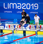 Lima, Peru -  30/August/2019 -   Myriam Soliman competes in the women's 50m freestyle S6 at the Parapan Am Games in Lima, Peru. Photo: Dave Holland/Canadian Paralympic Committee.