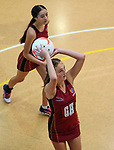 Kings College Premier Netball v St Mary's, Auckland Netball Centre, Auckland, Saturday 15 May 2021. Photo: Simon Watts/www.bwmedia.co.nz