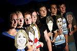 Pix: Shaun Flannery/sf-pictures.com..COPYRIGHT PICTURE>>SHAUN FLANNERY>01302-570814>>07778315553>>..10th July 2009..............Year 10 drama students of Don Valley School pictured at the launch of NHS Doncaster's DN1 'online' soap..L-R Elizabeth Whittaker, Zoe Pickersgill, Frankie Riley, Fiona Dobbs, Mitchell Awbery, Daniel Sykes, Mathew Vickers.