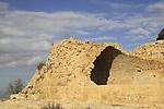 Jerusalem mountains, Nabi Samuel on Mount Shmuel, remain of the Crusader fortress