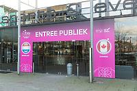 Den Bosch, The Netherlands, Februari 07 2019,  Maaspoort , FedCup  Netherlands - Canada, Entree<br /> Photo: Tennisimages/Henk Koster