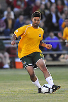 Brad Stisser #17, ..AC St Louis were defeated 1-2 by Austin Aztek in their inaugural home game in front of 5,695 fans at Anheuser-Busch Soccer Park, Fenton, Missouri.