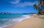 Caribbean, Lesser Antilles, Saint Lucia, Reduit Beach | Karibik, Kleine Antillen, Saint Lucia, Reduit Beach