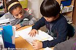 Education Elementary school Grade 4 students at work English langauge arts