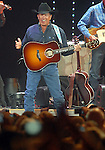 George Strait performs at Reliant Stadium Saturday Aug. 08, 2009.(Dave Rossman/For the Chronicle)