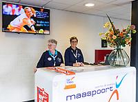 Den Bosch, The Netherlands, Februari 9, 2019,  Maaspoort , FedCup  Netherlands - Canada, <br /> Photo: Tennisimages/Henk Koster