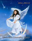 CHILDREN, KINDER, NIÑOS, paintings+++++,USLGSK0112,#K#, EVERYDAY ,Sandra Kock, victorian ,angels