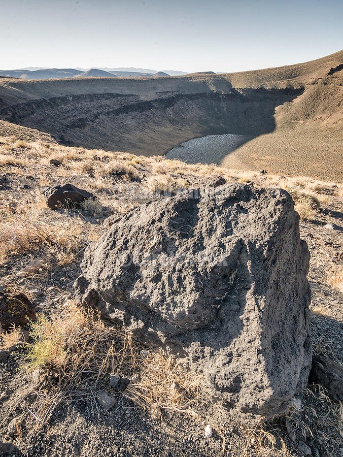 Lunar Crater, volcanic area, Nev.