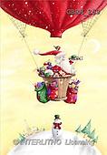 Roger, CHRISTMAS SANTA, SNOWMAN, paintings(GBRM259,#X#) Weihnachtsmänner, Schneemänner, Weihnachen, Papá Noel, muñecos de nieve, Navidad, illustrations, pinturas
