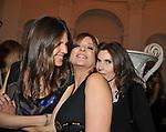BERTA ZEZZA CON  VERONICA SGARAVATTI  ROSI GRECO<br /> FESTA DEGLI 80 ANNI DI MARTA MARZOTTO<br /> CASA CARRARO ROMA 2011