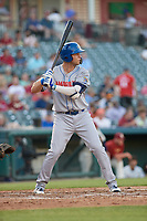 Amarillo Sod Poodles Hudson Potts (10) at bat during a Texas League game against the Frisco RoughRiders on May 16, 2019 at Dr. Pepper Ballpark in Frisco, Texas.  Frisco defeated Amarillo 5-4.  (Mike Augustin/Four Seam Images)