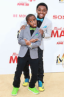 HOLLYWOOD, LOS ANGELES, CA, USA - JUNE 09: Caleel Harris, Curtis Harris at the Los Angeles Premiere Of Screen Gems' 'Think Like A Man Too' held at the TCL Chinese Theatre on June 9, 2014 in Hollywood, Los Angeles, California, United States. (Photo by David Acosta/Celebrity Monitor)