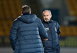 St Johnstone v Kilmarnock…02.12.17…  McDiarmid Park…  SPFL<br />Tommy Wright shakes hands with Steve Clarke at full time<br />Picture by Graeme Hart. <br />Copyright Perthshire Picture Agency<br />Tel: 01738 623350  Mobile: 07990 594431