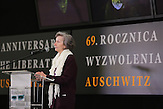 Former prisoner Zofia Posmysz said Auschwitz - Birkenau is the land where the departed are the most present.